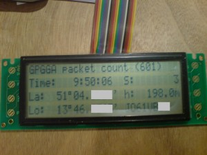 GPS2LCD Version 1.0
