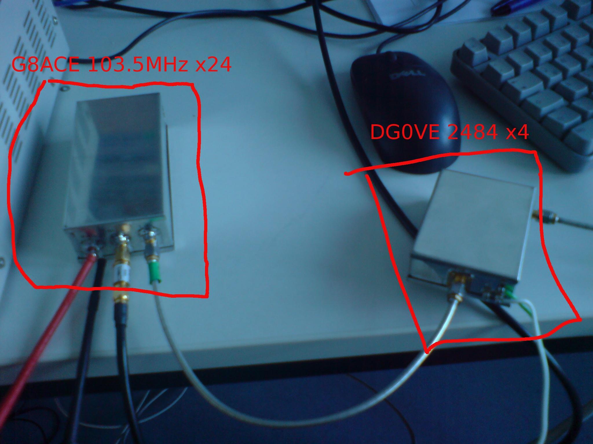Multiplier Chain for 70cm -> 10GHz conversion | Rauschfunk