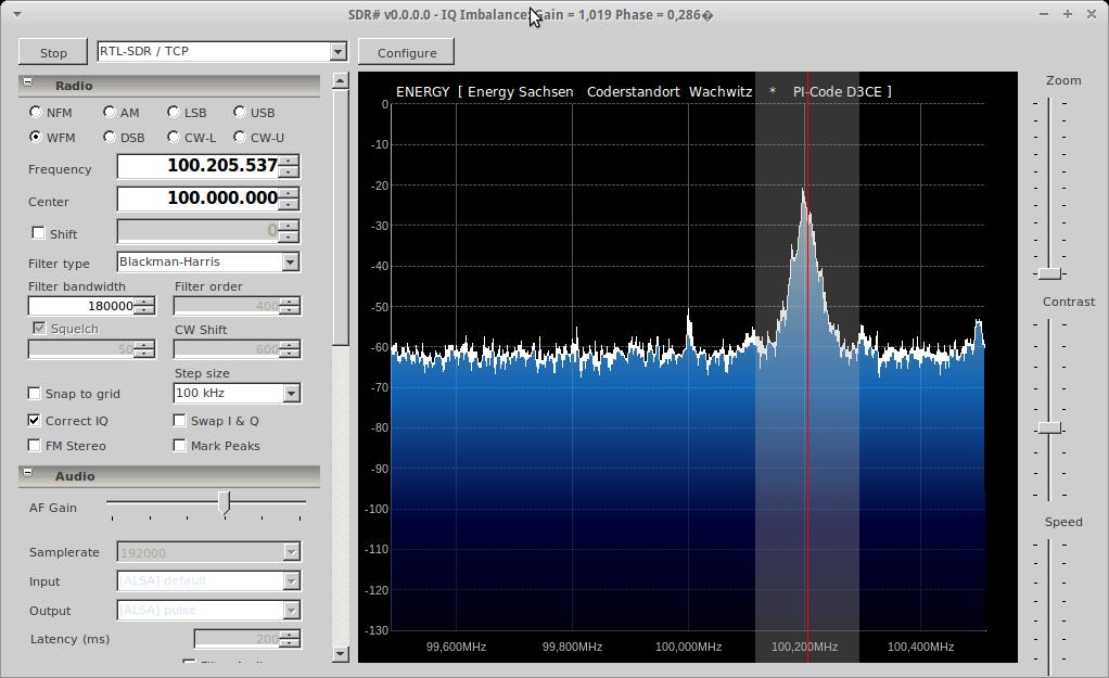 SDR# and RTL-SDR under Xubuntu 12 10   Rauschfunk