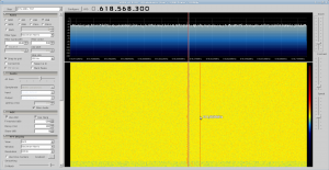 LNB + RTLSDR receiving DM0TUD on 10GHz