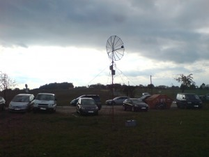 setup during october 2013 DUR activity in JO61XA