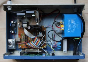 Inner of Rotator control unit