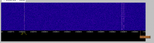 10GHz testsignal on WebSDR