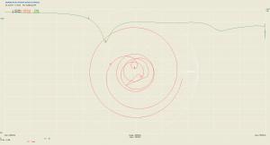 Hex-Quadlong 70cm measurement