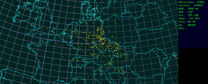 QSO map mmc2015 from JO60TR