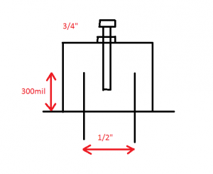 pipecap filter example for 6cm