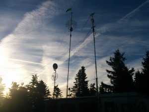 Antennas in October contest 2016